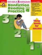 Nonfiction Reading Practice, Grade 4