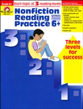 Nonfiction Reading Practice, Grade 6