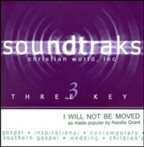 I Will Not Be Moved, Accompaniment CD