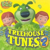 Boz the Green Bear Next Door: Treehouse Tunes #2 CD