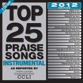 Top 25 Praise Songs Instrumental 2012 Edition, CD