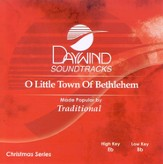 O Little Town of Bethlehem, Accompaniment CD
