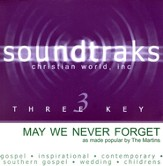 May We Never Forget [Music Download]