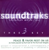 Peace & Favor Rest On Us, Accompaniment CD