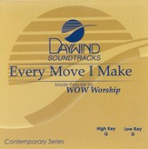 Every Move I Make, Accompaniment CD