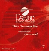 Little Drummer Boy, Accompaniment CD