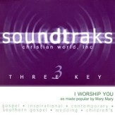 I Worship You, Accompaniment CD