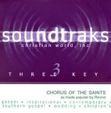 Chorus Of The Saints, Accompaniment CD