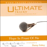Hope In Front Of Me (High Key Performance Track with Background Vocals) [Music Download]