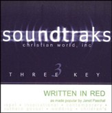 Written In Red, Accompaniment CD