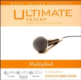 Multiplied (Low Key Performance Track with Background Vocals) [Music Download]