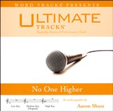 No One Higher (High Key Performance Track with Background Vocals) [Music Download]
