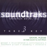 Savior Please, Accompaniment CD