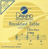 Breakfast Table, Accompaniment CD