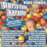 Party Tyme Karaoke: Kids Songs CD
