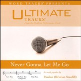 Never Gonna Let Me Go (Medium Key Performance Track with Background Vocals) [Music Download]