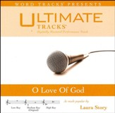 O Love Of God (As Made Popular By Laura Story) [Performance Track] [Music Download]