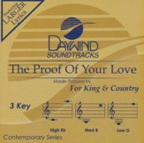 The Proof of Your Love Acc, CD
