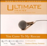 You Came To My Rescue (Medium Key Performance Track with Background Vocals) [Music Download]