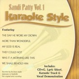 Sandi Patty, Volume 1, Karaoke Style CD