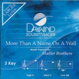More Than A Name On A Wall [Music Download]
