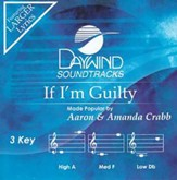 If I'm Guilty, Acc CD