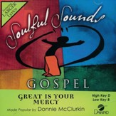 Great Is Your Mercy, Acc CD
