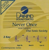 Never Once, Acc CD