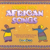Journey into African Songs CD