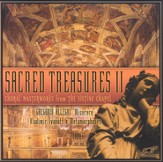 Sacred Treasures II: Choral Masterworks from the Sistine Chapel CD
