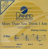 More Than You Think I Am, Acc CD