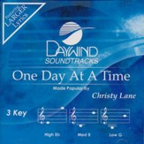 One Day At A Time, Accompaniment Track