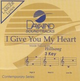 I Give You My Heart, Accompaniment CD