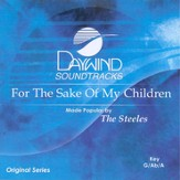 For The Sake of My Children, Accompaniment CD