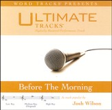 Before The Morning - Medium Key Performance Track W/Background Vocals [Music Download]