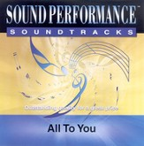 All To You, Accompaniment CD