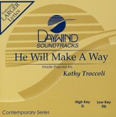 He Will Make A Way, Accompaniment CD