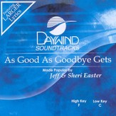 As Good As Goodbye Gets, Accompaniment CD