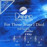 For Those Tears I Died, Accompaniment CD