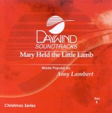 Mary Held The Little Lamb, Accompaniment CD