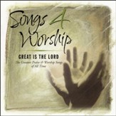 Songs 4 Worship: Great Is The Lord CD