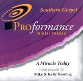 A Miracle Today, Accompaniment CD