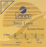 Your Love, Accompaniment CD