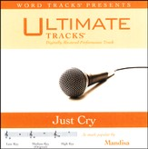 Ultimate Tracks - Just Cry - As Made Popular By Mandisa [Music Download]