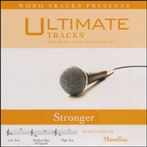 Ultimate Tracks - Stronger - As Made Popular By Mandisa [Music Download]
