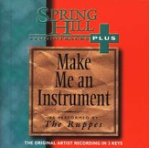 Make Me An Instrument, Accompaniment CD