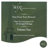 25 Gospel Songs, Volume 2, Accompaniment CD
