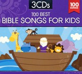 100 Best Bible Songs for Kids (3 Disc Set)