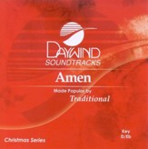 Amen, Accompaniment CD
