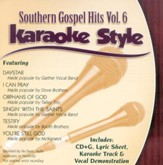Southern Gospel Hits, Volume 6, Karaoke Style CD